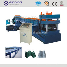 Hydraulic station PLC control highway guardrail device speedway cold roll forming machine