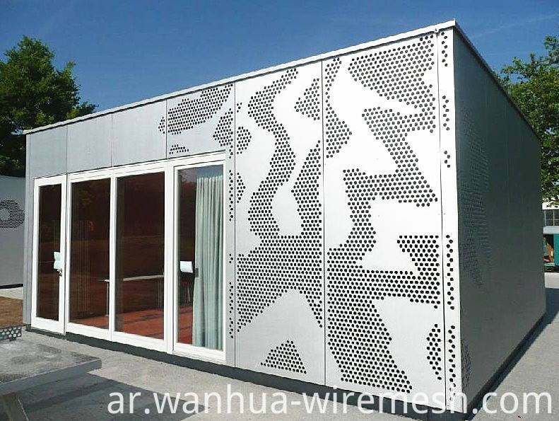 ?Decorative perforated sheet metal panels