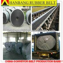 Banda transportadora de calor resistencia de la mina de carbón