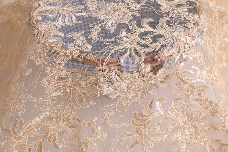 Wedding Dress Embroidery Fabric