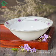 2015 New Style Custom Printed Big Ceramic Soup Bowls porcelain Dinnerware