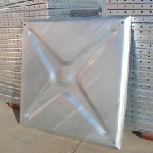 Tanque galvanizado do painel do armazenamento da água do aço pressionado