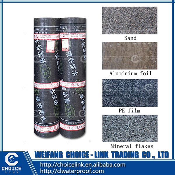 1-43SBS APP modified asphalt waterproof membrane