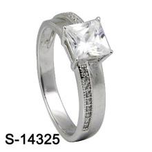 Fashion Jewelry 925 Sterling Silver CZ Women Ring (S-14325)