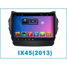 Carro do sistema Android DVD para IX45 9 polegadas Touch Screen com navegação GPS