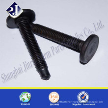 made in China high strength carbon steel black car wheel bolt