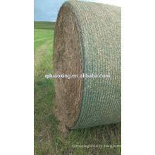 Rede de fardos de silagem HDPE para agricultura