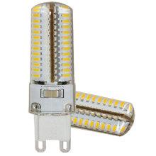 G9 Silicone 110V 104PCS 3014 SMD 4W Bulbo do diodo emissor de luz