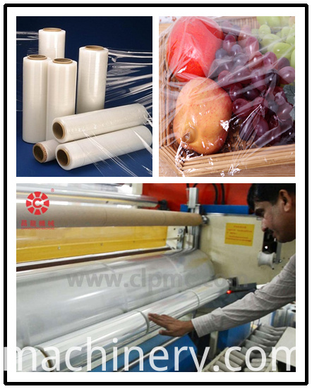 LLDPE cast cling film machinery