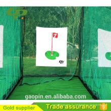 Pas cher, cage de golf classique / filets de pratique de golf intérieur / filet de golf