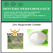Chélate de Bisglycinate de Zinc de Haute Qualité avec N ° CAS: 14281-83-5