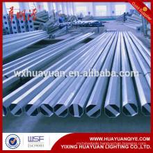 galvanized octagonal steel electric pole