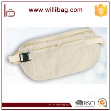 Fábrica barato novo design saco invisível barato segurança luz esporte cintura sacos