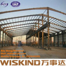Steel Structure Workshop for Africa with ISO and SGS Certificate