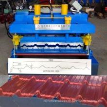Hochwertige Metalldachziegel-Rollformmaschine