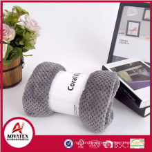 cobertor de lã coral super macio com embalagem em caixa de presente