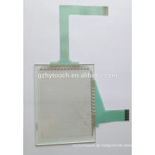 5.7 polegadas painel de controle de vidro transparente digital industrial tela de toque para exibição