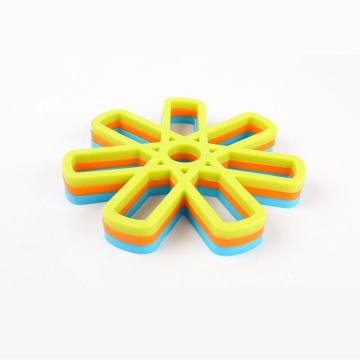 Silicone Trivet Bảng đồng hồ Silicone Pot Dish Pad Holder