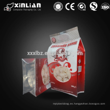 Sello de calor de alta calidad bolsa de empaque de alimentos congelados bolas de masa hervida