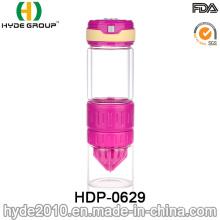 Botella de infusión de cristal libre al por mayor de la fruta de BPA al por mayor (HDP-0629)