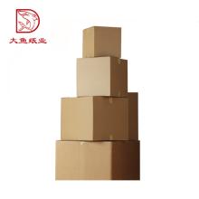 Taille personnalisée rectangle pliage boîte de papier ondulé en gros
