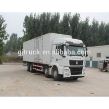 4*2 drive Sinotruk HOWO van truck/van box truck/van cargo truck/van transport truck/goods transport truck for 3-22 cubic meter