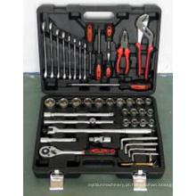 HRC48 Chrome Plated 45PCS Socket Wrench Set conjunto de ferramentas