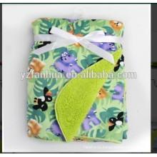 Рынок продажи горячих малышей Детские одеяла шерпа младенцев