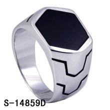 2016 Novo Design de Jóias 925 Anel de Prata Homem (S-14856, S-14856A, S-14856B, S-14856D, S-14856R)