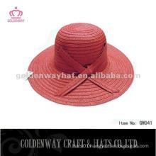 Ladies fashion paper hat GW041