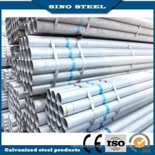 Tubo de aço galvanizado (Q235, Q345, Q195) em construção