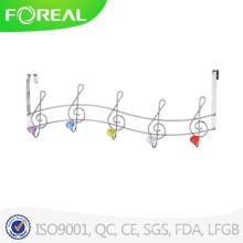 Over Door Metal Wire Crystal Clothes Hanger