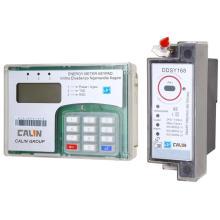 Установка на DIN-рейку Разделение клавиатуры Предварительная оплата / предварительная оплата Счетчик энергии