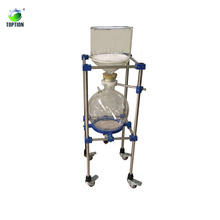 Производитель Китай для 20л лаборатории испарительных вакуум-фильтр воронке Бюхнера с фильтром из пористого стекла диск