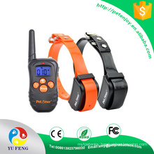 Completely waterproof collar receiver with vibration/beep/NO Shock safe for all pets Petainer Dog Training Collar Pet Friendly Non-Shock Dog Training Remote E Collar for Dogs With Back Light LCD Display