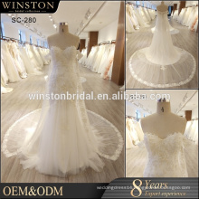 New design alibaba sale china custom made wedding dress