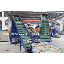 Haustier-Flaschen-Schrott-waschende Linie 500-6000kg / H