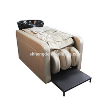 Hot sale lay down electric hair shampoo massage chair in salon