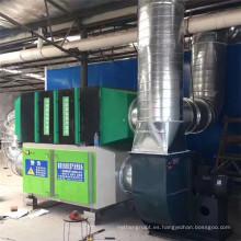 Procesador de olor de fotólisis de oxígeno ligero, equipo de tratamiento de gas de catalizador catalítico de tipo UV