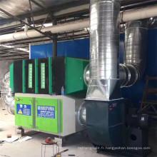 Processeur d'odeur de photolyse d'oxygène léger, équipement de traitement catalytique de gaz résiduel de type UV