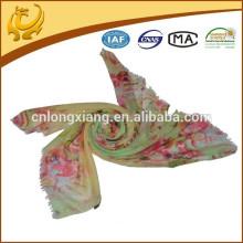 Bufanda hecha bajo por encargo de la cachemira de MOQ 100
