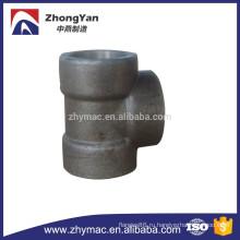 A105 Кованые углерода сталь Socket сварки тройник