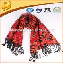 Foulard arabe Pashmina en soie mélangé en soie de viscose de soie