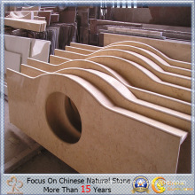 Popular Beige Marble for Kitchen Countertop or Table Top
