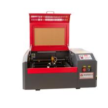 3020 small desktop co2 laser engraving machine laser engraver cutter 40 50w