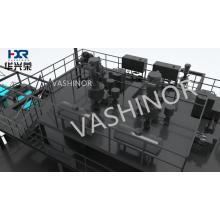 Производственная линия машины для производства нетканых материалов из расплава