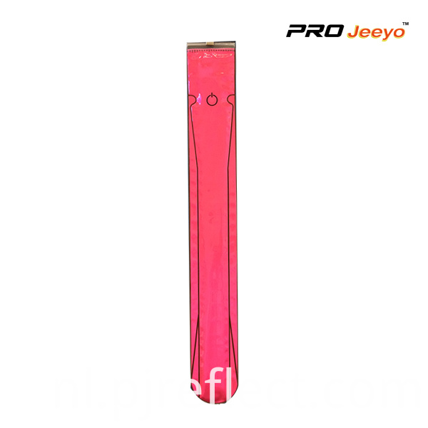 Wb Max002 Reflective Pvc Fluo Pink Safety Led Light Slap Band
