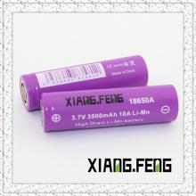 China Manufaturer 3500mAh 18650 3.7V Batterie Imr 18650 Batterie