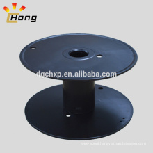empty plastic bobbin for wire shipping