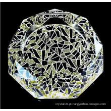 Venda quente barato cristal cinzeiro artesanato